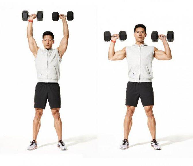 силовая тренировка боксера